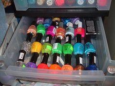 8 Fantastic Nail Polish Storage Ideas | Small Room Ideas