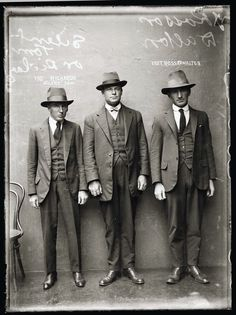 American gangsters 20's | colorfull world