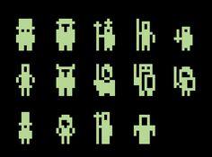 8-Bit City: Pixel Art: TI-Calculator Sprites