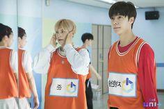 The unit Ji Hansol practicing