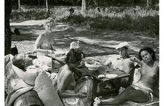 Lee Miller - Man Ray, 1937 - Picnic on Ile St-Marguerite