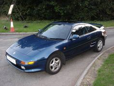 Toyota MR2 MK2 Manual in blue 54420 miles SOLD (1991)