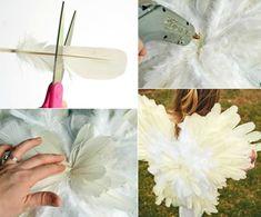 Engelsflügel basteln als Accessoire zum Kostüm – 7 DIY Ideen , #accessoire #basteln #engelsflugel #ideen #kostum