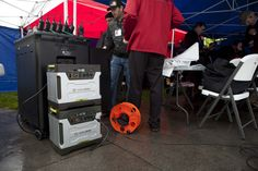 """#SLC Emergency """"Shakedown"""" Earthquake Drill. Solar power is a must for emergency kits in case power grids fail."""