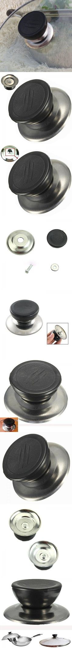 Genenic Pan Cover Lid Screw Hand Grip Cookware Pot Knob Replacement Handle