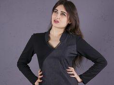 Langarmblusen - NARA elegante Blusen Shirt - ein Designerstück von Berlinerfashion bei DaWanda