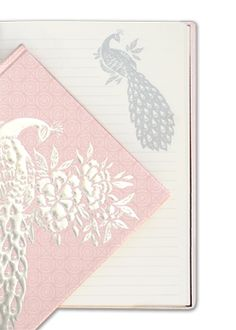 Cristina Re - A5 Hard Cover Peacock Blush  journal
