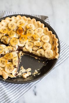 Caramelized Banana Truffle Pie