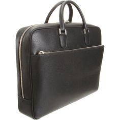 Valextra Soft Top Zip Briefcase at Barneys.com