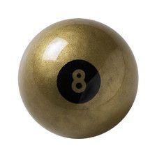 Aramith Billiard Ball - Golden 8 Ball