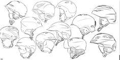 Nicolas Gomes Helnet Design Sketching