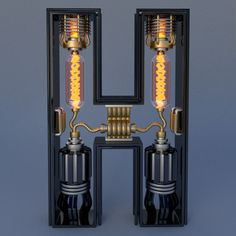 Electromechanical Type by Jose Carlos | Inspiration Grid | Design Inspiration