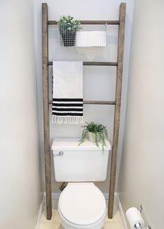 $100 Room Challenge: Week 4 – Bathroom Makeover Reveal -