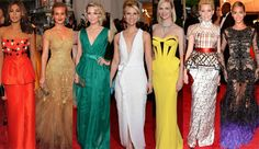 The 2012 Met Gala was a kaleidoscope of stunning gowns and frocks! http://www.glamourvanity.com/hot-celebrity-news/met-gala-2012/
