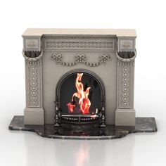 Download 3D Fireplace