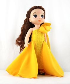 Custom Disney Animator Doll Beauty and the Beast - Belle