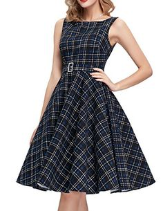Belted Homecoming Dresses A line Sleeveless Dress Size S ...