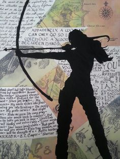 My silhouette art project.