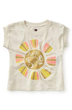 Tea Collection 'Sunlight' Graphic Tee (Toddler Girls, Little Girls & Big Girls)