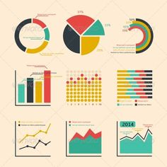 Business Ratings Graphs and Charts - Infographics