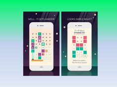 Soft Launched A Minimalist Puzzle Game Symmetria for iOS
