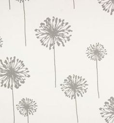 Dandelion White / Storm Twill | Online Discount Drapery Fabrics and Upholstery Fabric Superstore!
