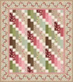 Graceful Moments - Graceful Cascade Free Quilt Pattern