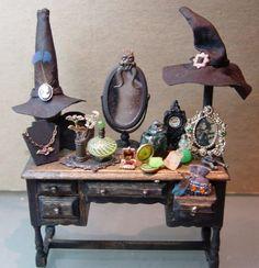 witch's vanity