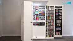 Our WorkBox is the perfect way to get organized in your craft room. Our WorkBox is the perfect way to get organized in your craft room. Craft Room Storage, Closet Storage, Locker Storage, Storage Ideas, Paper Storage, Food Storage, Home Design, Diy Design, Office Organization At Work