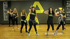 Don't be fooled by the low impact movements of this song.there are plenty of hidden squats that'll make you feel your quads and glutes by the end! Zumba Videos, Dance Videos, Workout Videos, Exercise Videos, Refit Revolution, Zumba Routines, Fitness Routines, Fitness Marshall, Meghan Trainor