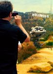 WIld Steelix by the Hollywood Sign by Ninja-Jamal