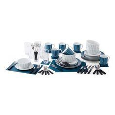 66-Piece Dinner Set Combo
