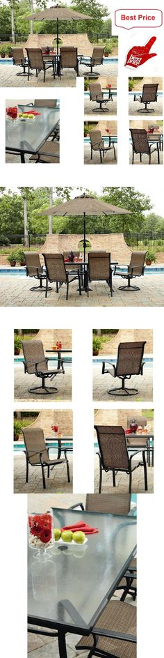 Patio And Garden Furniture Sets 139849: Patio Outdoor Garden Balcony Bistro  Set 3 Pcs Comfortable Chair Top Glass Table  U003e BUY IT NOW ONLY: $97.55 U2026