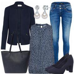 Business Outfits: PerlenLook bei FrauenOutfits.de