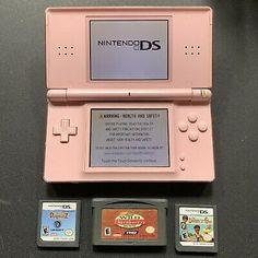 Nintendo DS Lite Metallic Rose Handheld System for sale online Nintendo Ds Lite, Nintendo Switch, Ds Games, Retro Videos, Old Video, Retro Toys, Barbie, Coral Pink, Childhood Memories