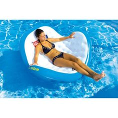 Sportsstuff Rock-n-Roll Inflatable Lounge - Swimming Pool Floats at Pool Toy Source