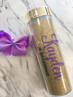 Don't forget about the Junior Bridesmaid! Make a set of matching tumblers for your entire bridal party! Unique Wedding Gifts, Gifts For Wedding Party, Party Gifts, Summer Wedding, Dream Wedding, Wedding Ideas, Junior Bridesmaid Gifts, Personalized Bridesmaid Gifts, Bridesmaid Proposal