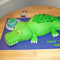 Alligator birthday party