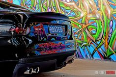 Holden VE R8 Clubsport fronting an Adelaide graffiti wall