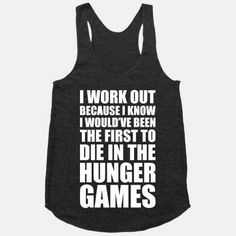 But at least you try , right? | 17 Tees For When Your Workout Just Isn't Gonna Happen