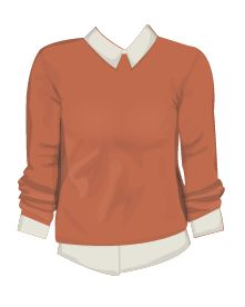 Sweater illustration. For Stardoll.