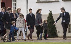 Primer gran homenaje popular: la reina Margarita sale con toda su familia al balcón de Amalienborg - Foto 6