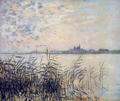 The Seine near Argenteuil, Claude Monet, 1874