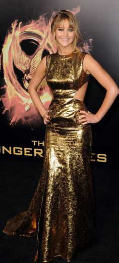 Jennifer Lawrence in Prabal Gurung!