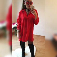 predĺžená košeľa ROSSA veľ.UNI v cene 2390  IHNEĎ K ODBERU  nájdeš aj na  http://www.tvojstyl.fashion#red#tvojstyl#fashion
