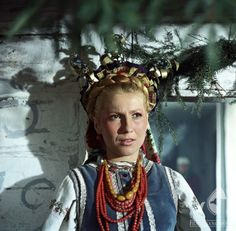 """""""Chłopi"""" (""""The Peasants"""") - Polish TV mini-series and movie directed by Jan Rybkowski. European Dress, Good Old Times, Vogue, Polish, Culture, Pure Products, Tv, Movies, Clothes"""