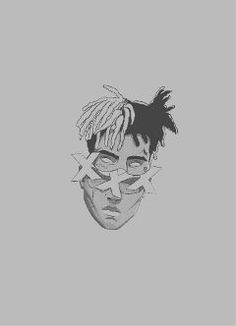 Discover the most awesome xxxtentacion images Dark Art Drawings, Pencil Art Drawings, Art Drawings Sketches, Cute Drawings, Arte Do Hip Hop, Rapper Art, Dope Wallpapers, Dope Art, Aesthetic Art