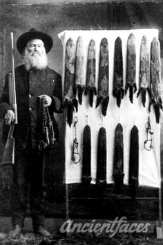 Fur Trapper: Anderson Gibson Gibson family photo
