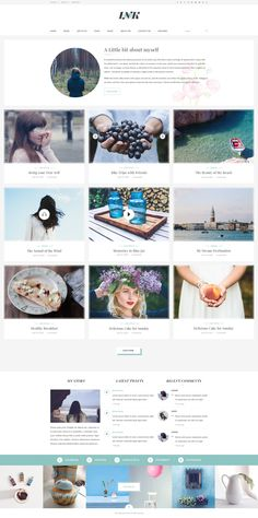 INK – Elegant Magazine Blog PSD Template - PSD Templates | ThemeForest