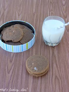 Hot Chocolate Pudding Cookies - Whats Cooking Love?